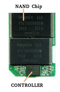 Recupero dati chip off nand chip